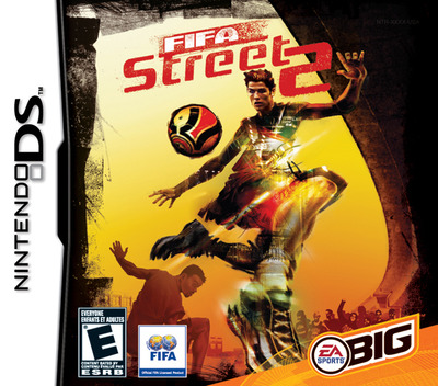 FIFA Street 2 DS coverM (AFSE)