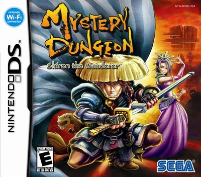 Mystery Dungeon - Shiren the Wanderer DS coverM (AFUE)