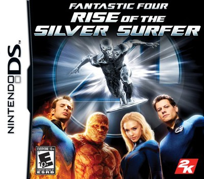 Fantastic Four - Rise of the Silver Surfer DS coverM (AFVE)