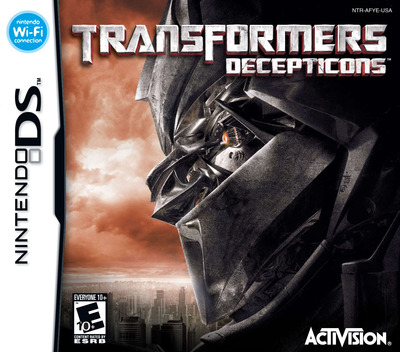 Transformers - Decepticons DS coverM (AFYE)