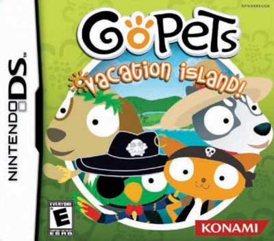 GoPets - Vacation Island! DS coverM (AGQE)