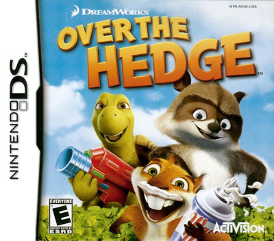 Over the Hedge DS coverM (AH5E)
