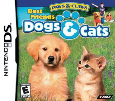 Paws & Claws - Best Friends - Dogs & Cats DS coverM (AHJE)