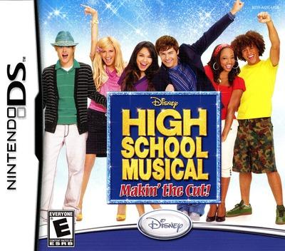 High School Musical - Makin' the Cut! DS coverM (AI2E)
