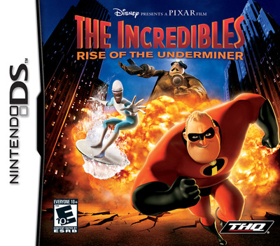 The Incredibles - Rise of the Underminer DS coverM (AICE)