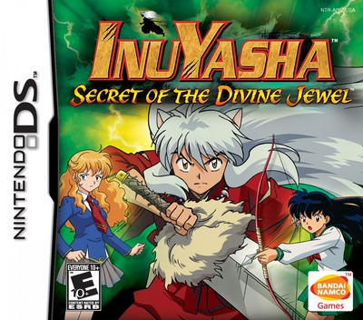 InuYasha - Secret of the Divine Jewel DS coverM (AIYE)