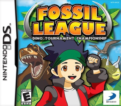Fossil League - Dino Tournament Championship DS coverM (AKGE)
