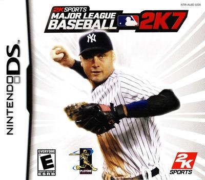 Major League Baseball 2K7 DS coverM (AL6E)
