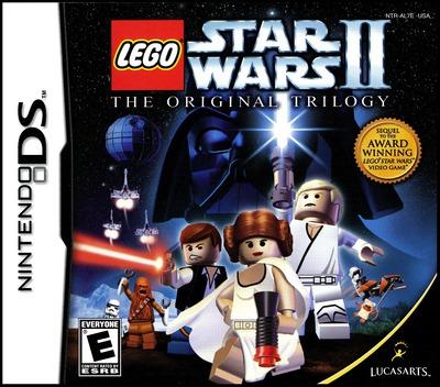 LEGO Star Wars II - The Original Trilogy DS coverM (AL7E)