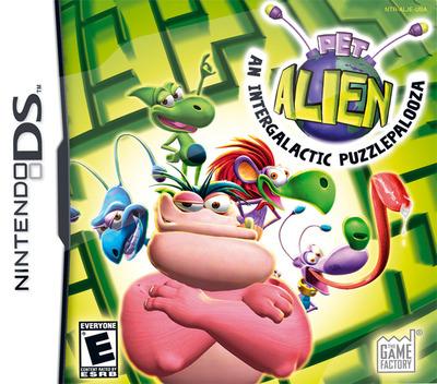 Pet Alien - An Intergalactic Puzzlepalooza DS coverM (ALJE)