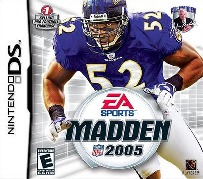 Madden NFL 2005 DS coverM (AMDE)