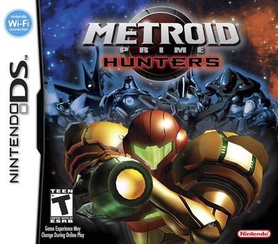Metroid Prime - Hunters DS coverM (AMHE)