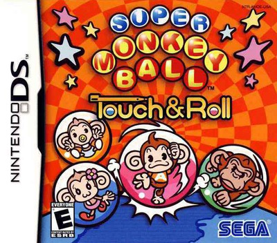 Super Monkey Ball - Touch & Roll DS coverM (AMOE)