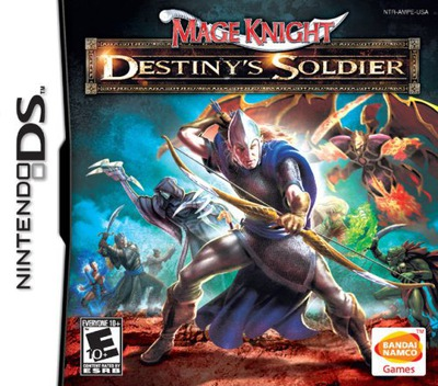 Mage Knight - Destiny's Soldier DS coverM (AMPE)