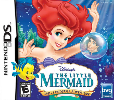 The Little Mermaid - Ariel's Undersea Adventure DS coverM (AN9E)