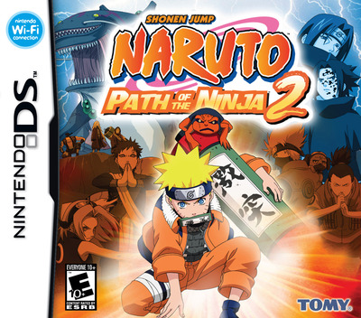 Naruto - Path of the Ninja 2 DS coverM (ANTE)