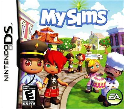 MySims DS coverM (AQIE)