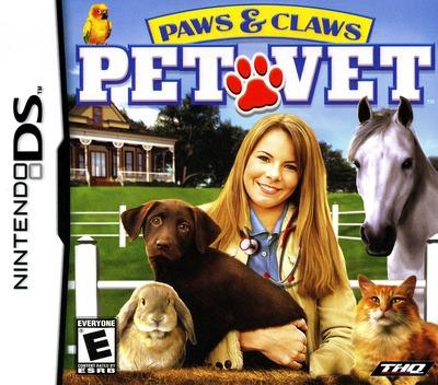 Paws & Claws - Pet Vet DS coverM (AQVE)