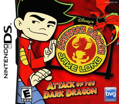 American Dragon - Jake Long - Attack of the Dark Dragon DS coverM (ARDE)