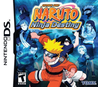 Naruto - Ninja Destiny DS coverM (AREE)