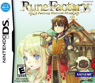 Rune Factory - A Fantasy Harvest Moon DS coverM (ARFE)