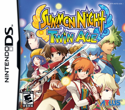 Summon Night - Twin Age DS coverM (AS7E)