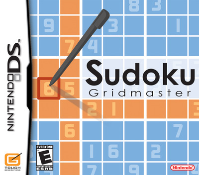 Sudoku Gridmaster DS coverM (ASQE)