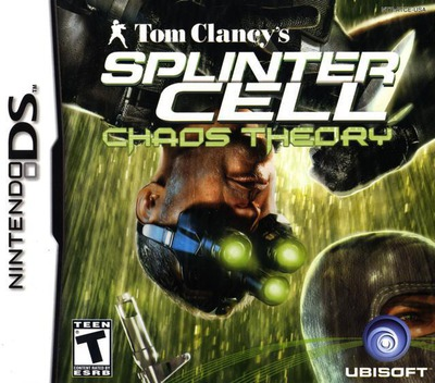 Tom Clancy's Splinter Cell - Chaos Theory DS coverM (ATCE)