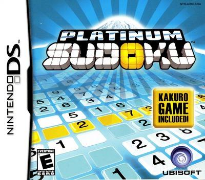 Platinum Sudoku DS coverM (AU6E)
