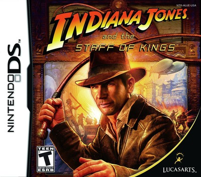 Indiana Jones and the Staff of Kings DS coverM (AUJE)