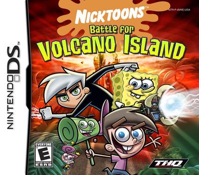 Nicktoons - Battle for Volcano Island DS coverM (AVKE)