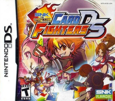 SNK vs. Capcom - Card Fighters DS DS coverM (AVSE)