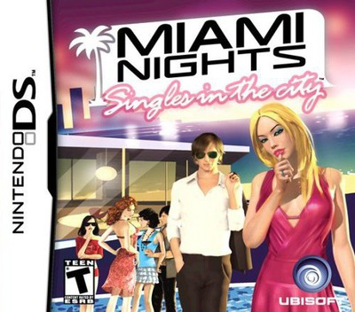 Miami Nights - Singles in the City DS coverM (AVWE)