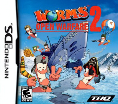 Worms - Open Warfare 2 DS coverM (AW2E)