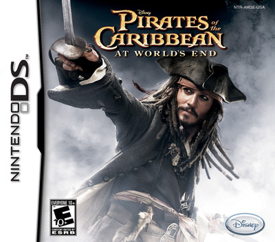 Pirates of the Caribbean - At World's End DS coverM (AW3E)
