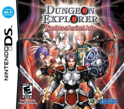 Dungeon Explorer - Warriors of Ancient Arts DS coverM (AXJE)