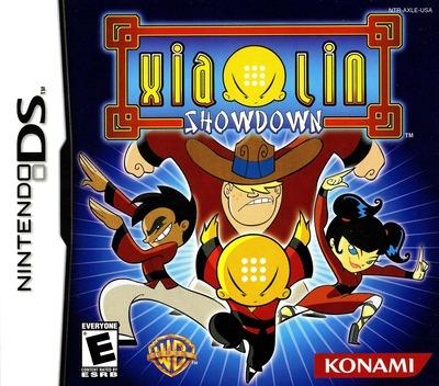 Xiaolin Showdown DS coverM (AXLE)