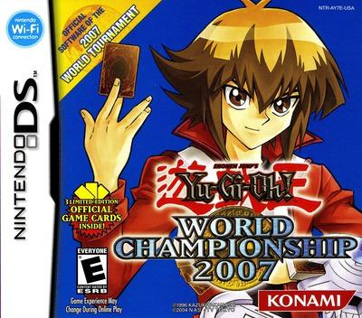 Yu-Gi-Oh! - World Championship 2007 DS coverM (AY7E)