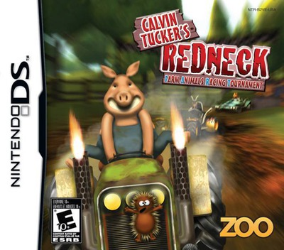 Calvin Tucker's Redneck - Farm Animal Racing Tournament DS coverM (B2VE)