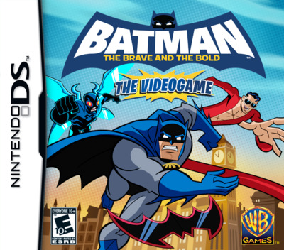 Batman - The Brave and the Bold - The Videogame DS coverM (B3BE)