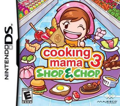 Cooking Mama 3 - Shop & Chop DS coverM (B3CE)