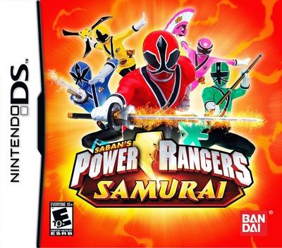 Power Rangers - Samurai DS coverM (B3NE)