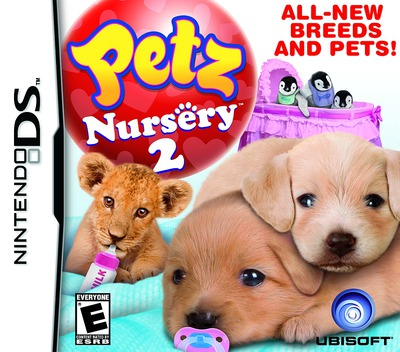 Petz - Nursery 2 DS coverM (B3UE)