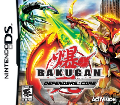 Bakugan - Defenders of the Core DS coverM (B4BE)