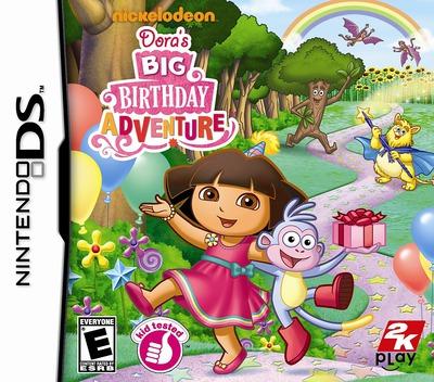 Dora's Big Birthday Adventure DS coverM (B4DE)