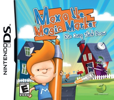 Max & the Magic Marker DS coverM (B4HE)