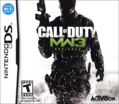 Call of Duty - Modern Warfare 3 - Defiance DS coverM (B5BE)