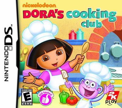 Dora's Cooking Club DS coverM (B5CE)