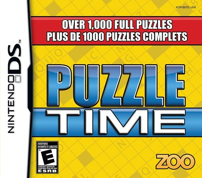 Puzzle Time DS coverM (B5TE)
