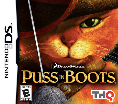 Puss in Boots DS coverM (B6SE)